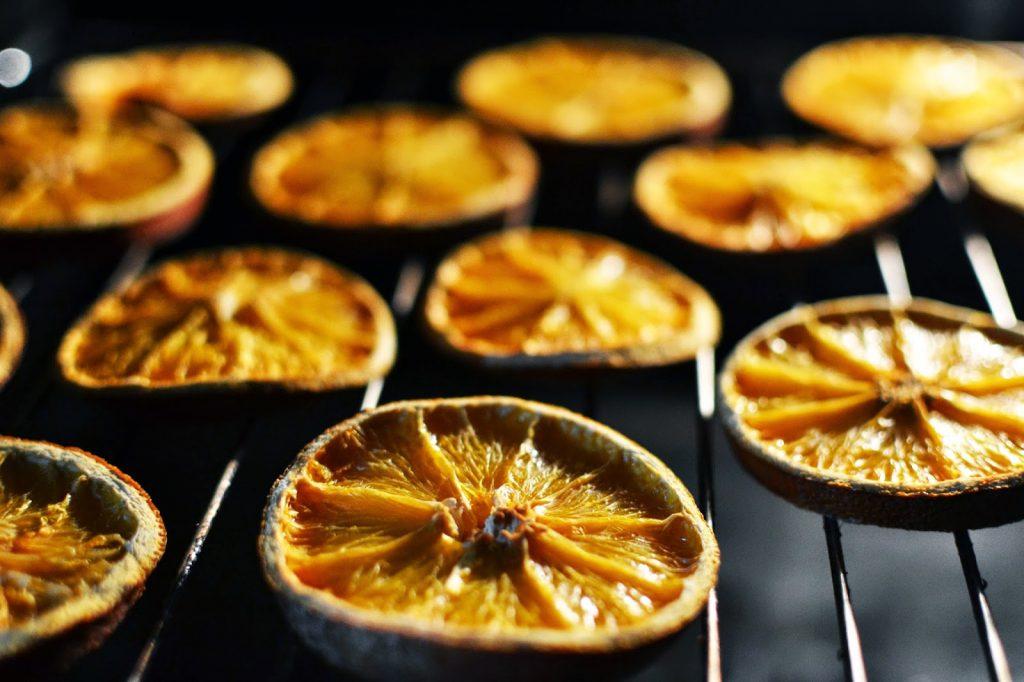 Tutorial: Wie man Orangenscheiben trocknet