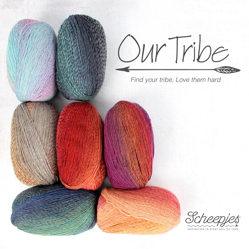 Scheepjes Our Tribe und Invicta Colour